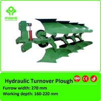 Agricultural hydraulic rotary turnover plow with high quality