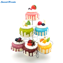Sweettreats Best 3 Tier Cupcake Stand holding 13 Cupcakes