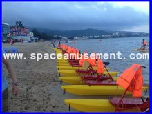 [Space amusement]Most Popular Pedal Water Bike For Sale.sports Water Bike Factory