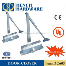Remote control door closer door piston