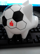 gift piggy bank promotional ideas for world cup football cup souvenirs