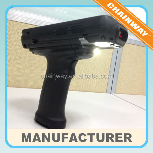 Handheld 2D Barcode Scanner , Pistol Grip, Cradle,WiFi,Blueooth, Option GPRS,GPS,Camera
