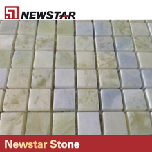 Newstar blue marble price per square meter for mosaic backsplash tile