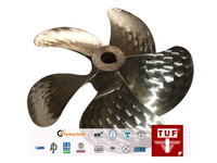 Kaplan Type 1150mm Four Blade CU3 Marine Fixed Pitch Propeller