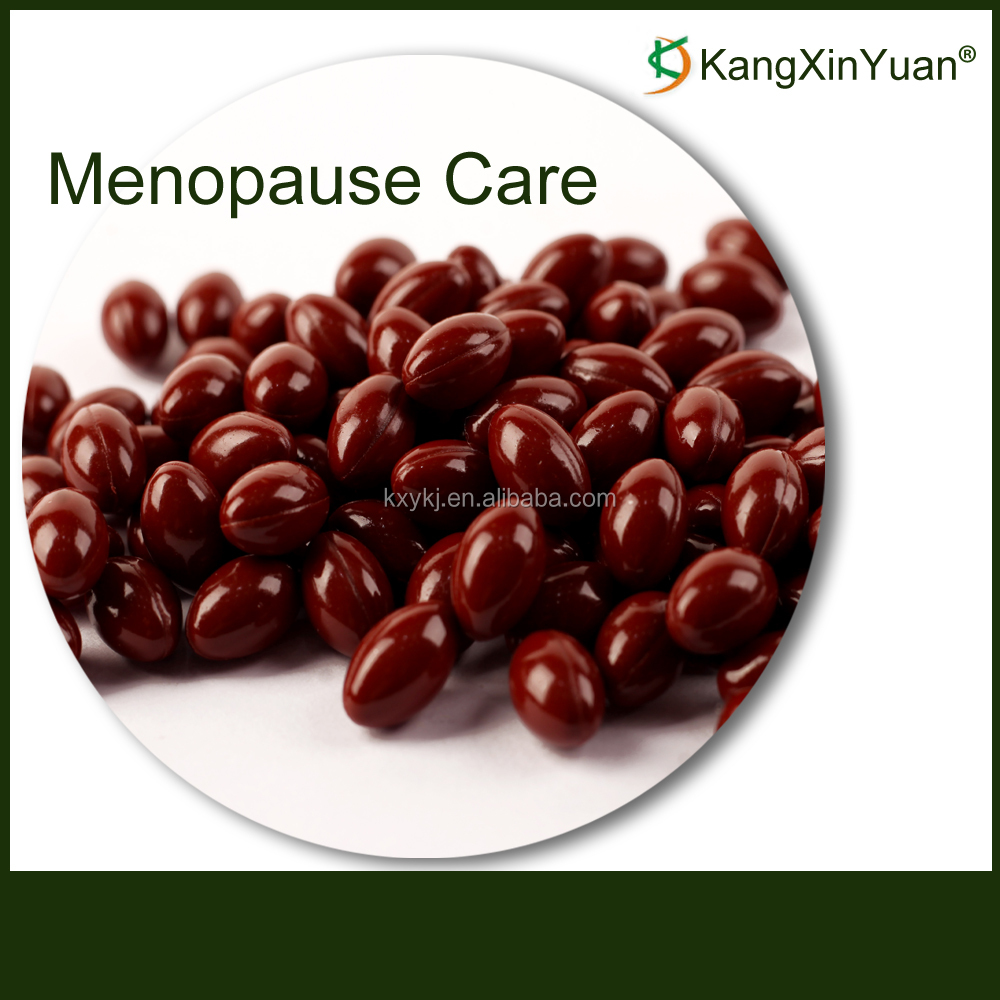 Natural Dietary Supplements Healthcare Product Women Menopause Care Soft Capsules