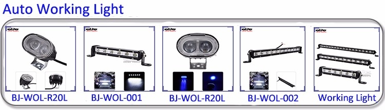 BJ-WOL-002 Working Driving Car Truck SUV OffRoad Fog Lamp ATV LED Working Light