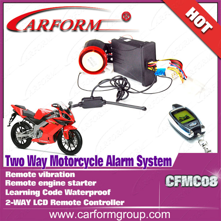 New product Promotion motorcycle anti theft alarm
