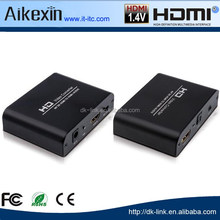 4Kx2K HDMI to HDMI and Optical TOSLINK SPDIF+3.5mm Stereo Audio Extractor Converter w/ ARC Function HDMI Audio Splitter Adapter