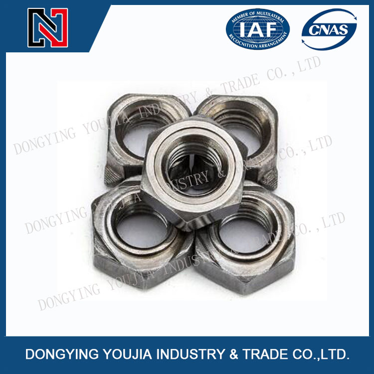 DIN928A Stainless Steel Square weld nuts
