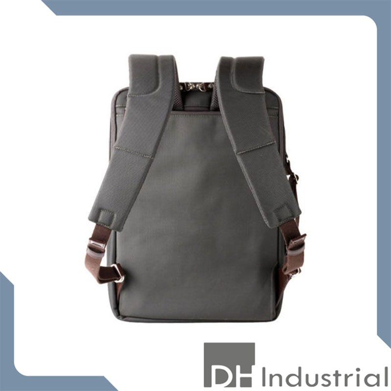 men's high end black nylon backpack
