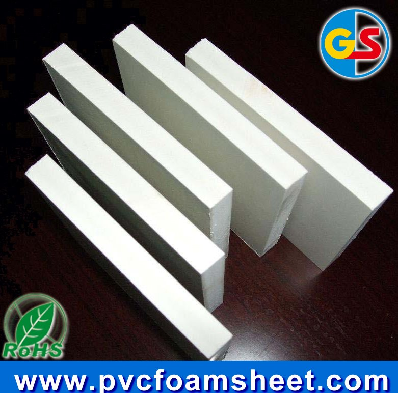 4x8 pvc foam sheet plastic and wood composition sheet for building/construction