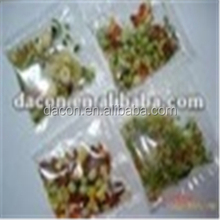 Vegetable sachet for instant noodles