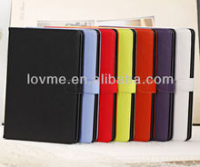 NEW COMING SLIMBOOK BOOK CASE POUCH SMART COVER SLEEP WAKE FEATURE FOR iPAD AIR