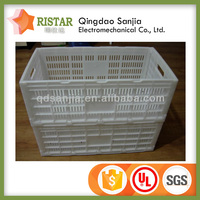 Light-weight birdnest plastic box plastic folding crate