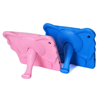 drop resistance protective tablet case with elephant nose holder for iPad 2 3 4
