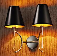 New decoration fabric modern wall lighting lamp