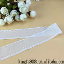 Nylon/Spandex Strech Ribbon Soft Breathable Tapes Elastic Webbing