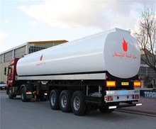 Stainless 45000 liters 50000liter or small fuel tank semi trailer