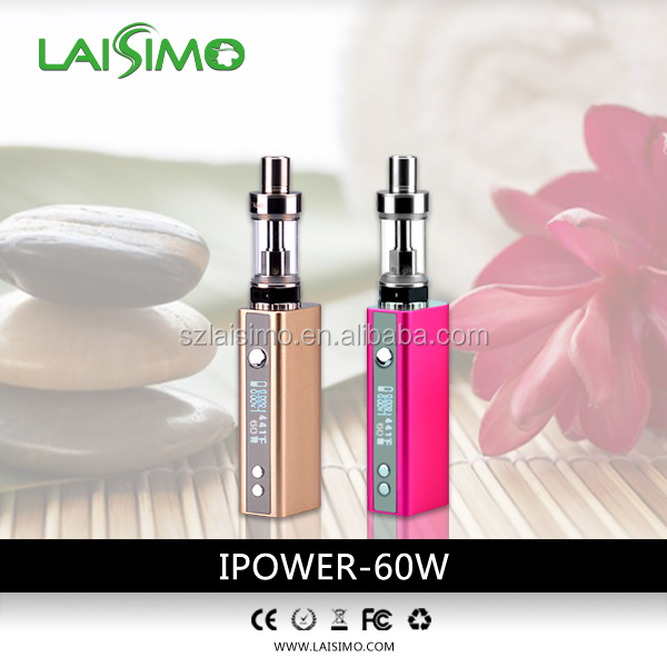 Laisimo 60w mod rechargeable e cigar, E-cigarettes 1800puffs disposable e cigs cigars ecig