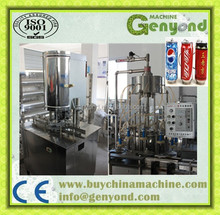 Drink not containing gas cans/tins filling machinery for sale