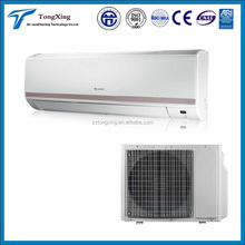 9000-30000BTU wall split air conditioner R22/R410a GMCC or HITACHI compressor