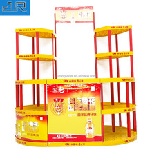 Supermarket Retail Store Multifunction Makeup Food Plastic Display Stand