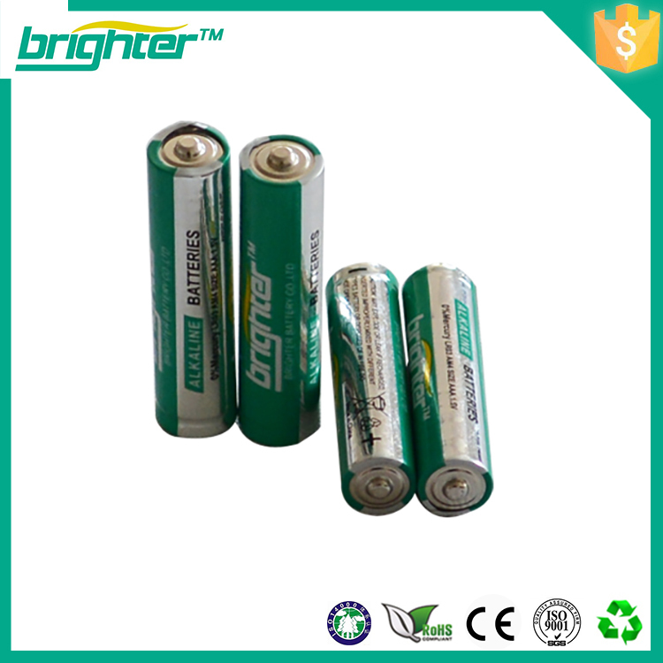 pro-environment top quality aaa lr03 am4 alkaline battery price of 1.5v dry cell battery