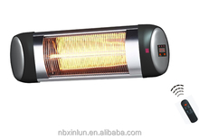 Infrared Heater quartz tube indoor remote control heater IP34