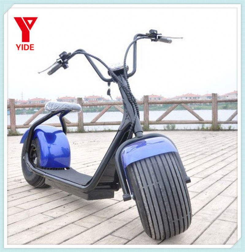Motorcycle Big Bike 1000w Seev Citycoco Scooter Harley Electric Scooter Hoverborad Two Wheel