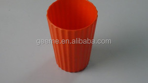 solid color melamine cup