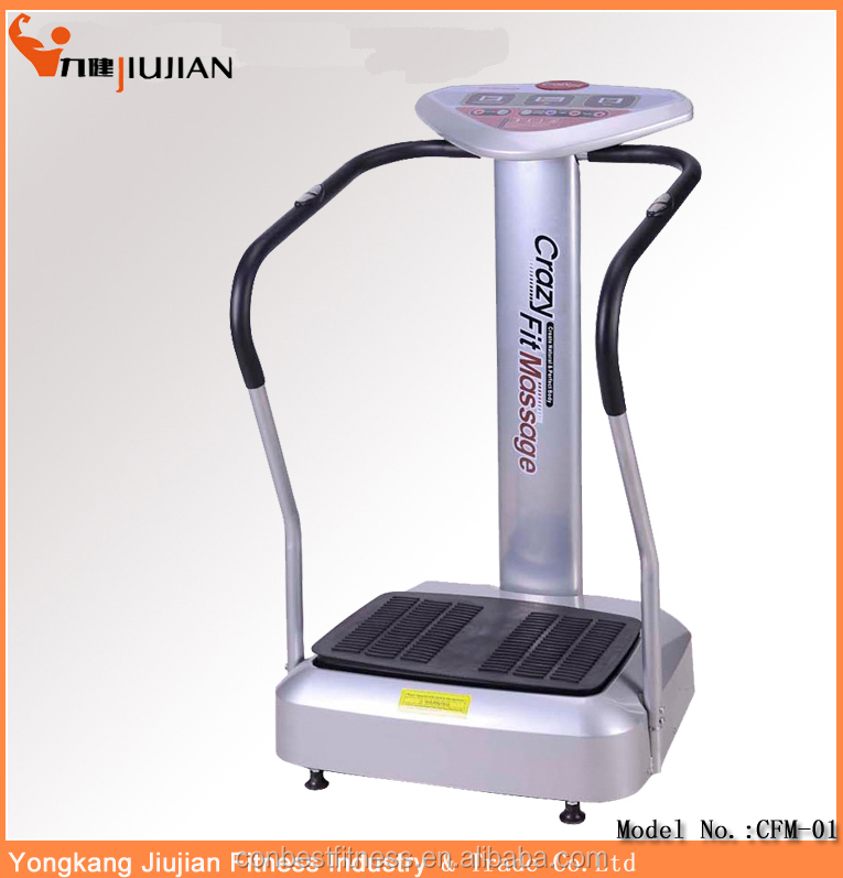 Physical Therapy Body Building Machine Vibration Plate Crazy Fit Massage 500w 1000w