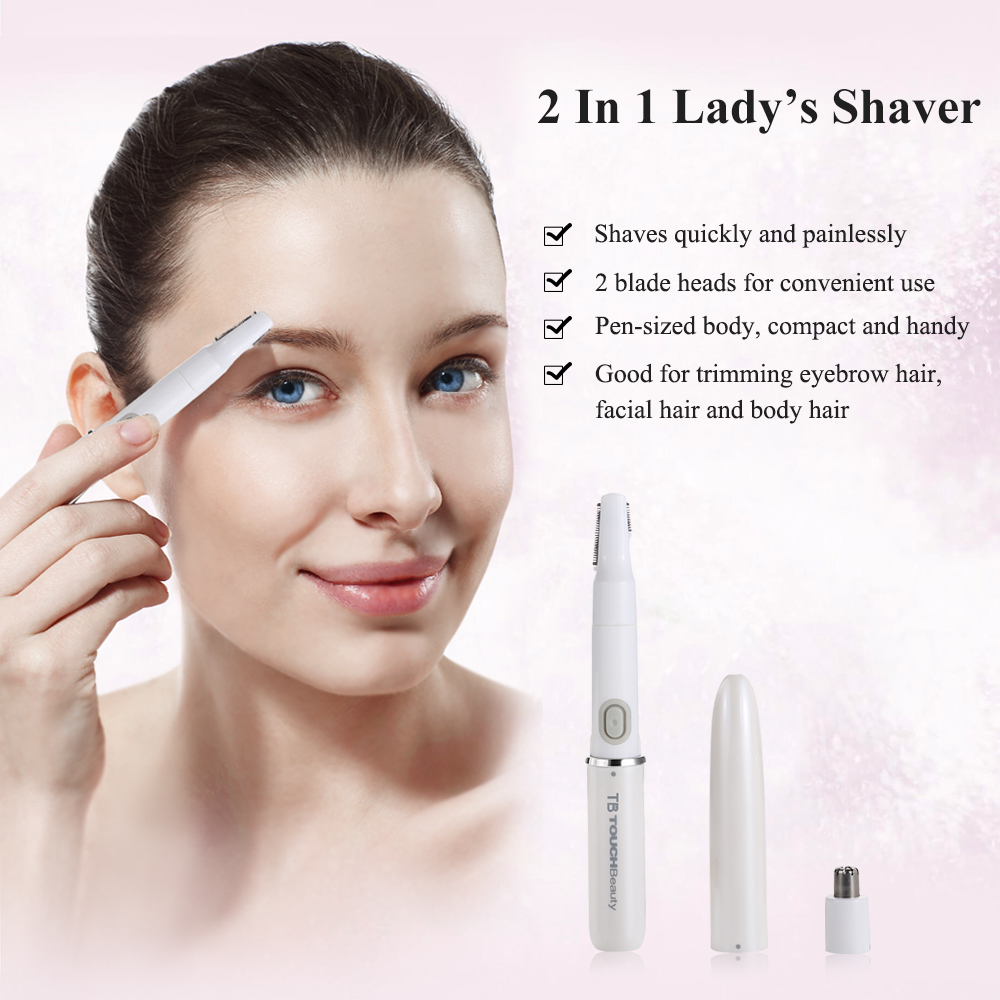 TOUCHBeauty Mini Waterproof Electric Shaver for Christmas