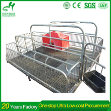 Pigs farming equipment pig 2.1*3.6m and 2.1*3.7m obstetric table pig farm in india