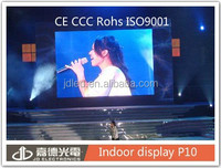 P10 RGB sexy movies com LED screen for stage usage