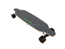 The newest model of electric skateboard with dual hub-motors -- lighter and thinner