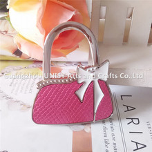 Nice women bag hanger folding bag purse hook handbag hanger holder foldable bag hanger