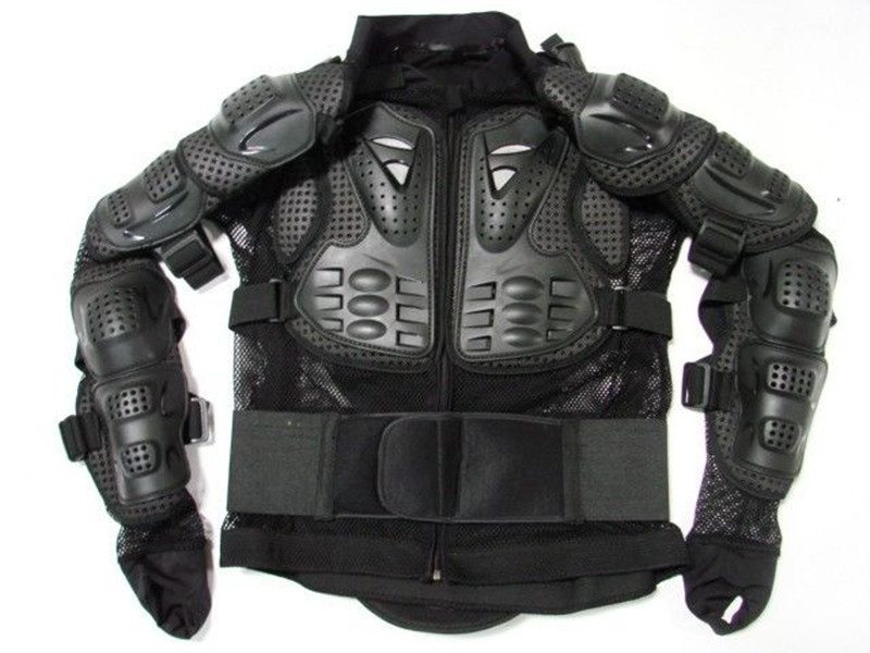 Spine Back Chest Shoulder Protector Motorcycle Full Body Armor