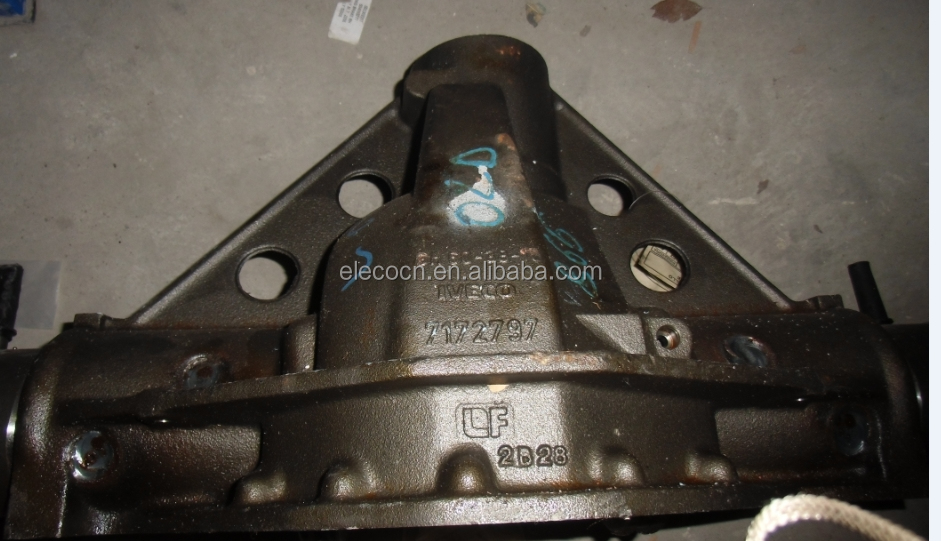 Iveco rear axle body 7175676 7172797 Made in Italy for Iveco chassis spare parts