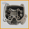 Chinese Scooter Parts GY6 50cc 139QMB 39cm Cylinder Bore 64mm valve engine cylinder head With Valves