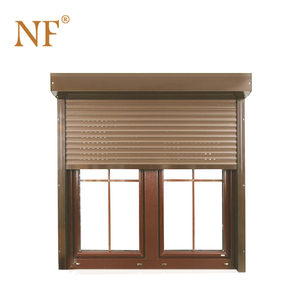 Residential Security Louver Aluminum Glass Casement Window