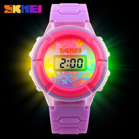 Hot Sales SKMEI 1097 Sports Watches Kids PU plastic strap Children Sports Watches Fashion Kids' digital watches