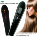 Electric Vibrating Automatic Plastic Hair Growth Head Massager Tools