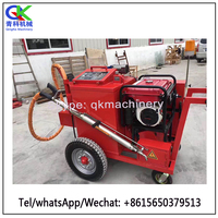 Cement pavement crack sealing and filling irrigation machine