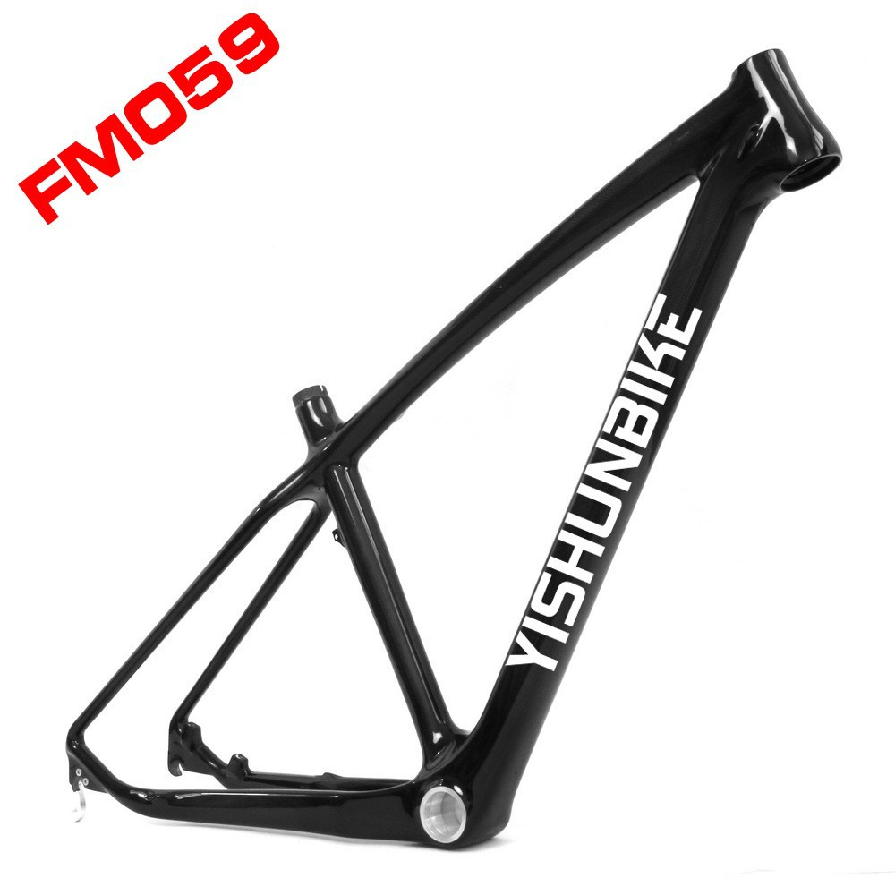 Lightcarbon 27.5er carbon bicycle frame on sale with BB30 system carbon bicycle frame in cross country FM059 with quick release
