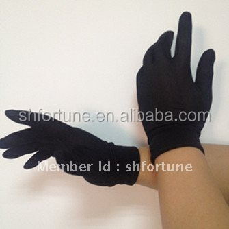 Unisex knitted silk winter ski gloves
