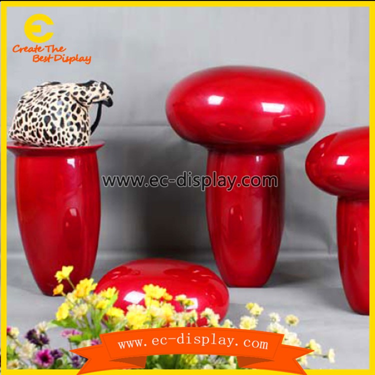 fiberglass mushroom shaped office table modern side table