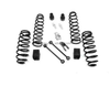 High performance coilover front suspension lift kits 2.5 inch for jeep wrangler jk 2007+