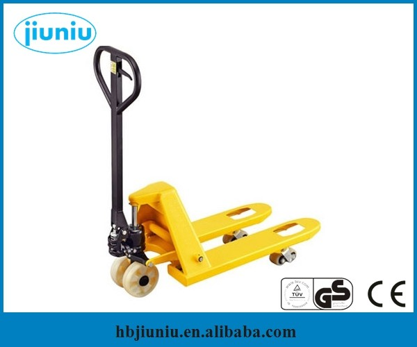 New ac hand 3 ton pallet truck with PU wheel