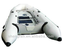 Inflatable pvc high speed fishing rubber pontoon boat