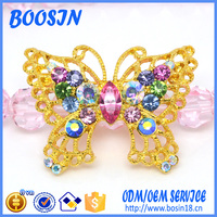 Cheap Gold Butterfly Brooch, Costume Jewelry for Wholesale 5231